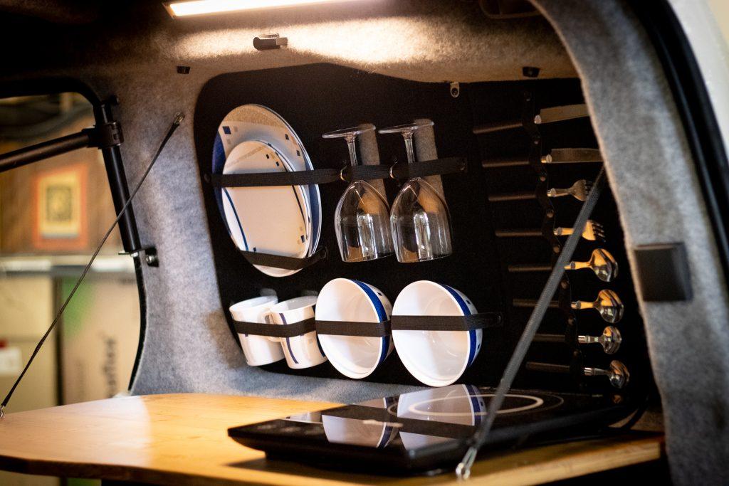 SimplyCamper Klapptischküche